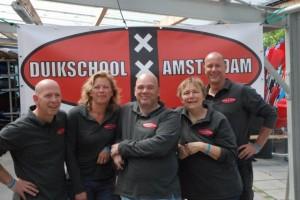 Team Duikschool Amsterdam